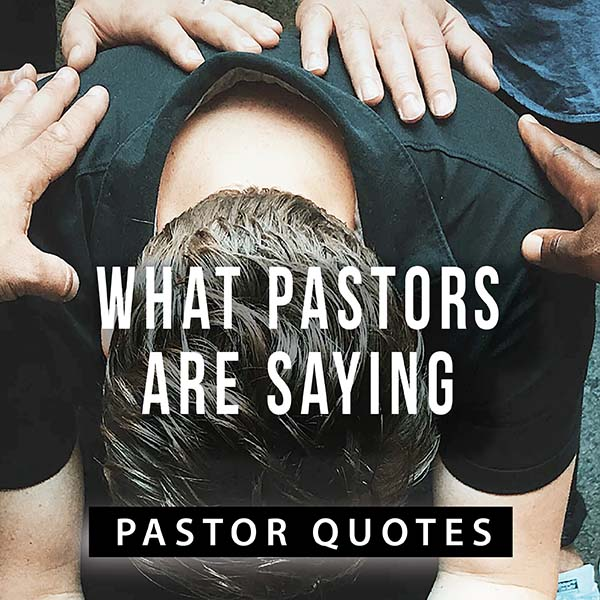 What pastors are saying.
